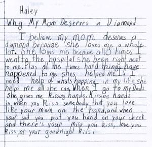 Describe Your Mom Essay
